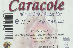 Caracole Caracole etiket_label backside