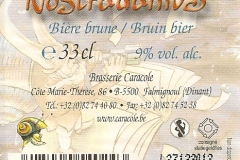 Caracole Nostradamus etiket_label backside-001