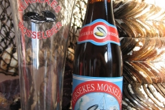 Mosselbier Yerseke Bottle and Glass