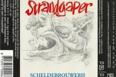 Strandgaper Scheldebrouwerij Etiket-001