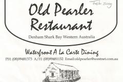 Australia, Old Pearler Restaurant (1)