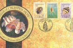 Christmas Island 1992 Cypraea Lambis Engina Drupa