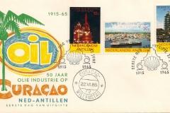 Curaçao Nederlandse Antillen SHELL 1965 50 years3