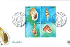 Malta 2003 Phalium, Turris, Charonia, Clanculus