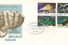 Marshall Islands 1986 Charonia Tridacna