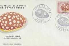 New Caledonia 1970 Cypraea cribraria