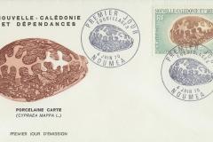 New Caledonia 1970 Cypraea mappa