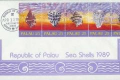 Palau 1989 Cymatium Conus Vexillum