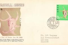 Ryukyu Islands 1968 Lambis chiragra