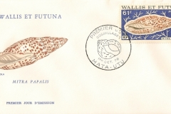 Wallis et Futuna 1976 Mitra papalis
