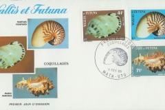 Wallis et Futuna 1985 Casmaria nautilus murex