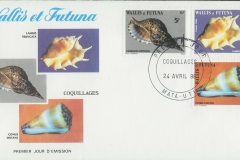 Wallis et Futuna 1986 Lambis Charonia Conus