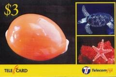 Fiji Islands 2003 Cypraea aurantium 657