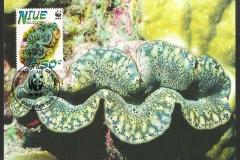Niue 2002 Tridacna maxima 829