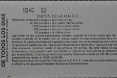Z Spanish lottery Backside