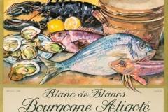 Wine, Blanc de Blancs, Bourgogne Aligote