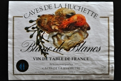 Wine, Caves de la Huchette, Blanc de Blancs, France