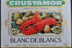 Wine Crustamor produce of France