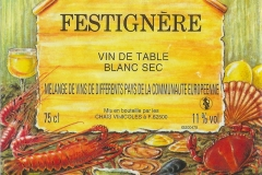 Wine Festignère Etiket-Label