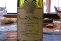 Wine, France, Pouilly Fumé 2005