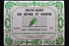 Wine, Muscadet de Sévre et Maine, France