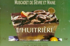 Wine, Muscadet de Sevre et Maine, Huitriere, France