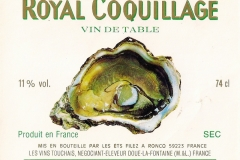 Wine Royal Coquillage Etiket-Label