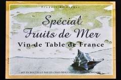 Wine, Spécial Fruit de Mer, Busycon, France