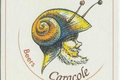 Caracole Caracole Saxo Troublette Nostradamus viltje_coaster