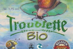 Caracole Troublette Bio etiket_label