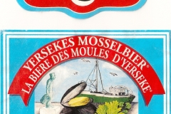 Mosselbier Yerseke etiket