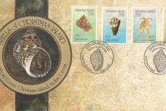 Christmas Island 1992 Conus Lambis Vasum Turbo etc