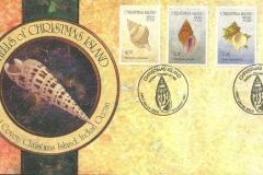 Christmas Island 1992 Turbo Distorsio Cantharus Angaria