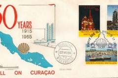 Curaçao Nederlandse Antillen SHELL 1965 50 years