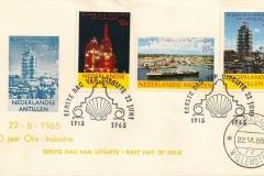 Curaçao Nederlandse Antillen SHELL 1965 50 years2