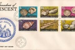 Grenadines of St.Vincent 1974 Cassis flamea