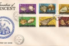 Grenadines of St.Vincent 1974 Cymatium femorale
