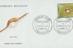 Madagscar 1973 Volva volva
