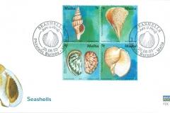 Malta 2003 Fusinus, Tonna Haliotis, Pinna