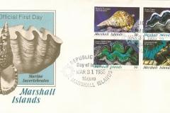 Marshall Islands 1986 Charonia Tridacna