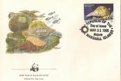 Marshall Islands 1986 Charonia tritonis