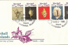 Marshall Islands 1986 Lambis Strombus Bursa