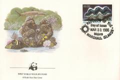 Marshall Islands 1986 Tridacna gigas