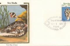 Marshall Islands 1987 Conus pennaceus