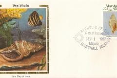 Marshall Islands 1987 Cymatium pileare
