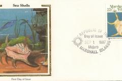 Marshall Islands 1987 Lambis chiragra