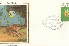 Marshall Islands 1987 Lambis scorpius