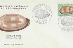 New Caledonia 1970 Cypraea talpa