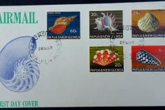 Papua & New Guinea, 28.08.1968, 165 x 93 mm.