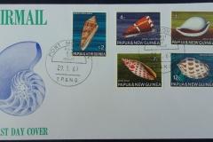 Papua & New Guinea, 29.01.1968,  165 x 93 mm